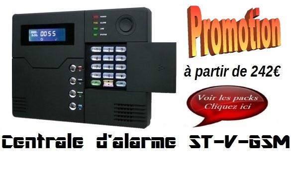 Centrale d'alarme ST-V GSM