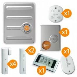 Pack alarme sans fil Mhouse Kit n° 4
