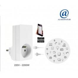 Prise connectée pour centrale d'alarme sans fil