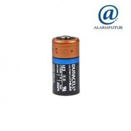 Pile lithium 3 volts CR 123A  Duracell Ultra