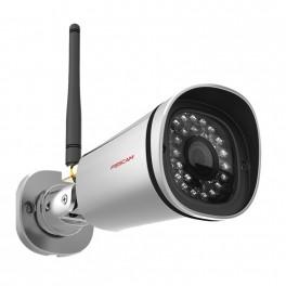 Pack caméra fixe sans fil IP HD extérieure FOSCAM FI9800P