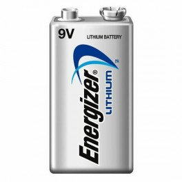 Pile Lithium 9 volts / FR9  Energizer Ultimate