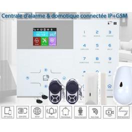 Pack alarme sans fil ALARMFUTUR IP 2 GSM Garantie 5 Ans