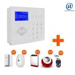Alarme GSM sans fil ALARMFUTUR House Kit 7