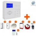 Alarme GSM sans fil ALARMFUTUR House Kit 10