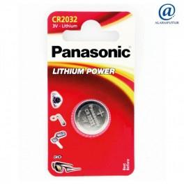 Pile bouton au Lithium 3 volts CR2032 Panasonic