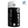 Pile lithium professionnelle CR123A SAFIRE ( vrac/bulk ) 3 Volts en 1600 mAh